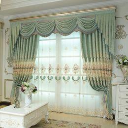 2019 stringa di paglia all'ingrosso Modern Simple e New Jacquard Curtain Finished Tenda Panno Villa Living Room Art