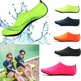 Muta per immersioni online-Regno Unito Nuove donne Uomo Scarpe da acqua Calze da acqua Calze da immersione Muta antiscivolo Nuoto da spiaggia