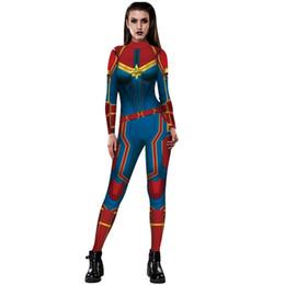 Dessins de robes serrées en Ligne-salopette nouvelle de femme Iron Man print design Halloween moulante robe salopette à manches longues