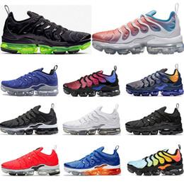 5a7fb198f02c nike vapormax tn plus 2019 Scarpe da corsa per uomo PURE PLATINUM Game Blu  royal grigio freddo Volt tripla bianco nero donna sneakers sportive scarpe  da ...