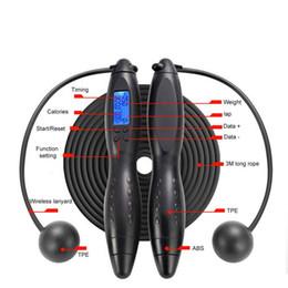 Canada Intelligent Électronique Numérique Adulte Corde À Sauter Professionnel Corde De Fitness Intelligent Électronique Comptage De Calories Sauter Compteur supplier electronic calorie counters Offre