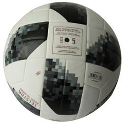 football première ligue Promotion Concepteur-La Coupe du monde de football de haute qualité Premier PU Football officiel Ballon de football Ligue de football champions entraînement sportif Ball 2018