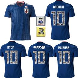 387849f1c Cartoon Number 2018 World Cup Japan Soccer Jersey Captain TSUBASA 10 OLIVER ATOM  KAGAWA ENDO 9 HYUGA NAGATOMO KAMAMOTO Custom Football Shirt discount soccer  ...