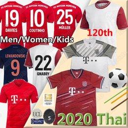 2019 jersey de deutschland 19 20 Bayern Munich COUTINHO fútbol Jersey Lewandowski MULLER HERNANDEZ camisetas de 120o Aniversario uniformes GNABRY Davies MUNCHEN