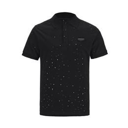 Спортивная рубашка-поло онлайн-Марка мужской дизайнерской футболки, летняя повседневная одежда с коротким рукавом, любители моды Polo, спортивная серия из чистого хлопка с коротким рукавом gic