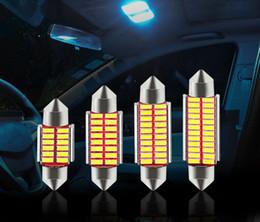 Festoon 31mm 36mm 39mm 42mm Bombilla LED C5W C10W Super brillante 4014 SMD Canbus Sin error Auto Interior Lámpara Doom Luz de peinado del automóvil desde fabricantes