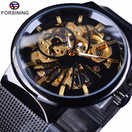 smallest watch Coupons - Forsining 2017 Fashion Luxury Thin Small Dial Unisex Design Waterproof Watches Men Luxury Brand Skeleton Watch Male Wristwatch