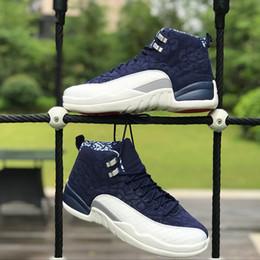 Uluslararası Uçuş 12 s Basketbol Ayakkabı BV8016-445 12 Tokyo Japonya Erkekler Spor Sneakers Boyut 40-47 Ücretsiz Nakliye Yeni Varış nereden