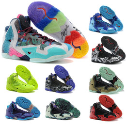 zapatos james 12 Rebajas James 11 th Generation Combat Calzado de baloncesto para hombre Calzado exterior gris Lebron 11 Baloncesto Calzado deportivo tamaño US 7-12