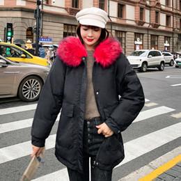 Kaufen Sie im Großhandel Damen Rote Parka Jacke 2020 zum