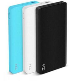 Xiaomi ZMI Power Bank 10000 мАч внешняя батарея португальская печать 2,0 балла за упаковку для iPhone от