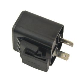 2019 segnali di giro di metallo LumiParty Universale in plastica di alta qualità in metallo per moto Indicatore di direzione Relè lampeggiatore 2 pin LED Indicatore luminoso (nessun suono 12 V) r30 sconti segnali di giro di metallo