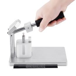 Handzerstäuber online-Dorn-Presse-Maschine für M6T muffigen Vapes Cartridges Tragbare manuelle Kompressor manuell Presser 510 Vape Pen Atomizer Handpresse