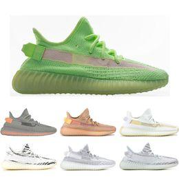 huge discount d9e43 f9be6 2019 yeezy shoes women adidas yeezy boost 350 v2 Dos Homens Tênis de  Corrida tanjun Preto