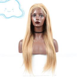 Peruca sexy mongol on-line-Mongolian cabelo novo partido cosplay não transformados remy virgem cabelo humano 1bt27 sexy colorido natural reta peruca cheia do laço para as mulheres