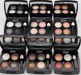 maquillaje chino cosmética Rebajas Envío gratis 2019 NUEVO MAQUILLAJE MINERALIZAR 4 COLORES SOMBRA DE OJOS Paleta 2g (6 Piezas / lote)