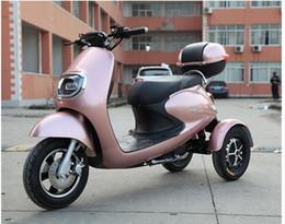scooters électriques personnalisés Promotion Nouveau tricycle électrique loisirs scooter navette enfant 60V72V petite tortue roi batterie balance de voiture vélo VTT