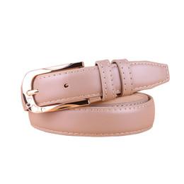2019 cinturón de acero femenino Cody Steel Mujer Cinturón de Moda Individualidad Pin Hebilla Correa de Señoras de Cuero Correas de Alta Calidad Femenina Simple color sólido rebajas cinturón de acero femenino