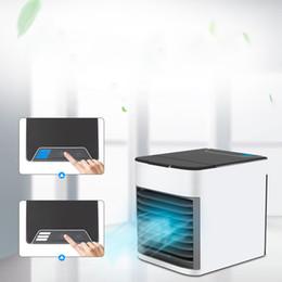 2019 ventilador de refrigeración Carga por aire Ventilador de enfriamiento Refrigeración pequeña Aire acondicionado Ventilador Refrigeración de agua pequeña rebajas ventilador de refrigeración