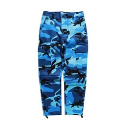 8e91bebc01d85c Discount cotton canvas cargo pants - New Men s Camo Cargo Pants Hip Hop  Casual Man Fashion