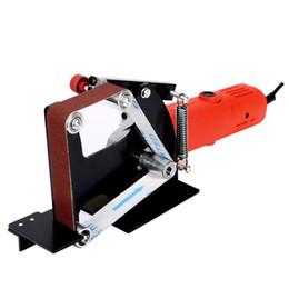 agujero negro de manzana Rebajas Adaptador de correa lijadora lijadora para 100/115 125 accesorios amoladora angular eléctrica rectificadora pulidora 649E