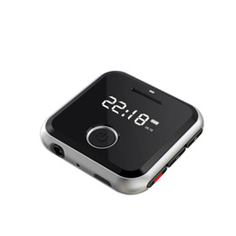mini mp3 music player Coupons - HBNKH R300 Portable Metal Clip Sports Mini MP3 HiFi Music Player 8G 0.91 inches WAV Voice Recorder FM Radio Can Play 30 Hours