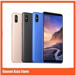 2019 4g chinesisches handy Xiaomi Mi Max 3 6 GB 128 GB Handy 6,9 Zoll Vollbild Snapdragon 636 Octa Core AI Dual Kamera 5500 mAh Android 8.1