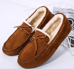 Canada Chaussures de coton à haricots à la mode féminine et européenne et chaussures d'hiver en cachemire Offre