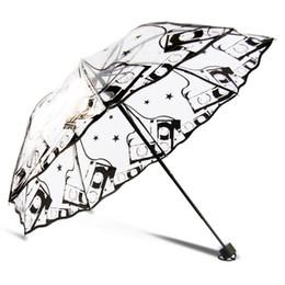 Clair Mignon Bulle Profonde Dôme Parapluie Résistance Au Vent Arc de Parapluie Transparent En Forme De Champignon Désherbage Décoration Partie Parasol Imperméable À L'eau ? partir de fabricateur