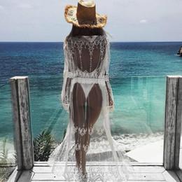Deutschland 2018 frauen sommer spitze häkeln bikini vertuschen drucken strand top caidigan beach badeanzug vertuschen dress Versorgung