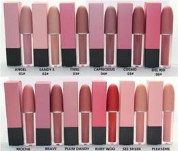 proiettili di rossetto Sconti Nuovo arrivo 2018 Più nuovo marchio Lip cosmetici Selena Natale in edizione limitata pallottola rossetto Lustro Lip Gloss Spedizione gratuita