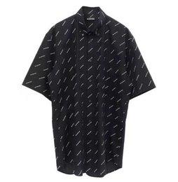 2019 herren poloshirts designs Fashion Brand Design Print Kurzarm Revers Shirt Sommer Casual Brief drucken Herrenbekleidung Polo Shirt Bluse Vintage Tops 8970 günstig herren poloshirts designs