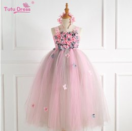 2020 свадебные платья лепестковая юбка Лето 2019 новая свадебная одежда, Pengpeng детская юбка принцессы, лепесток длинное платье девушки платье и платье юбка скидка свадебные платья лепестковая юбка
