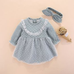 abiti i mesi di bambina Sconti New Born Baby Girl Abiti Abiti Little Girls Set di abbigliamento 0 3 Mesi Newborn Kids Autunno Inverno 2018 Vetement Enfant Fille 6 J190524