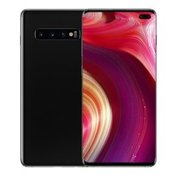 Mobile tv android online-Goophone S10 S10 + und Android 9.0 gezeigt 4G LTE MTK6592 Octa Core 4GB RAM 64G ROM T-Mobile WCDMA Smartphones