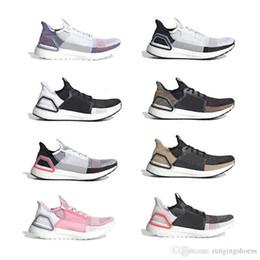 zapatillas marrones Rebajas 2019 Ultra Mens Running Shoes Cloud White Black Dark Pixel Refract Clear Brown Primeknit Sports Entrenadores Hombres Mujeres Zapatillas Con Caja