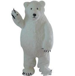 mascote, traje, polar, urso Desconto 2018 venda direta da Fábrica Custom Made Branco Urso Polar Mascot Costume Mascote Do Urso Branco Personalizado