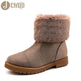 2019 europäischer schuhgröße 42 JCHQD 2019 European Style Boots Damen Qualitativ hochwertige Schuhe Damen Kurze Plüsch-Schneeschuhe mit warmem Interieur Europäische Größen 36-42 günstig europäischer schuhgröße 42