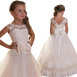 314a3e0d8b08 2019 Summer Bridesmaid Lace Princess Dress Girl Costume Kids Dresses For Girls  Children Party Wedding Dress 3 10 12 Year LP-207 ball gown for 12 years  girls ...