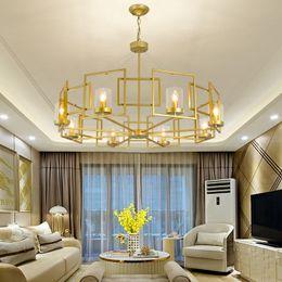 Lámpara LED moderna de doble espiral de araña de oro para vestíbulo Escalera Escalera Dormitorio Hotel HallCeiling Lámpara colgante de suspensión desde fabricantes