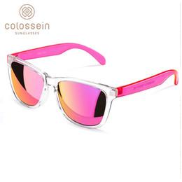 gafas de moda para adultos Rebajas Gafas de sol COLOSSEIN Mujeres Lindo Multicolor Vacaciones UV400 Protección Gafas de plástico Adultos Hombres Nueva Moda Gafas De Sol