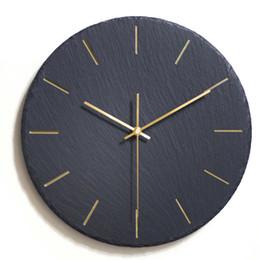 Creative Ins Noir Horloge Murale Design Moderne Montre Murale Mécanisme Pow Art Décor Horloge Relogio Parede Salon 50ZB291 ? partir de fabricateur