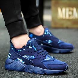 scarpe da corsa leggera Sconti Scarpe da corsa calde per gli uomini Sneakers Camouflage Taglia 36-47 9 Colori Scarpe da jogging leggeri per lo sport da jogging