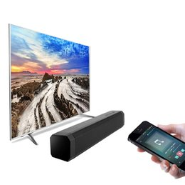 2019 control remoto con cable 2018 Nuevo LP-089 Altavoz Bluetooth inalámbrico Barra de sonido Altavoz estéreo Subwoofer de cine en casa Mini altavoz de audio