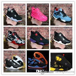 Wholesale Aair ÜRDÜN Yeni Jumpman Çocuk basketbol ayakkabıları Çocuklar Açık spor ayakkabı Spor Kırmızı Chicago Boy Kızlar s lüks Atletik spor ayakkabıları