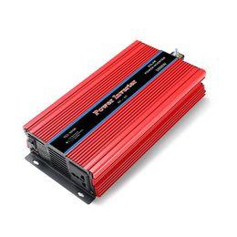 синус автомобиля Скидка Двойной дисплей автомобиля инвертор конвертер USB зарядное устройство адаптер модифицированная синусоида 3000/4000/5000/6000 Вт