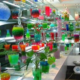 Toptan Satış - Renkli Kristal Çamur Topu Çiçek Çamur Toprak-Su Boncuk kristal toprak kristal toprak çamur torbaları loş nereden