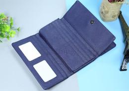 Porte-carte de visite en Ligne-2019 femmes classiques en cuir pu hommes long portefeuille détenteurs de la mode bouton business porte-cartes de crédit portefeuilles bourse 103