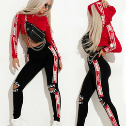 Tute Sportive Donna Due pezzi di abbigliamento Set Tuta Patchwork Felpa con cappuccio Felpa lunga Pantaloni Jogger Outfit Set Felpe donna Tute da