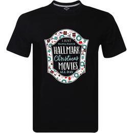 2019 weihnachten tag film NEU Ich will gerade Hallmark Weihnachtsfilme den ganzen Tag lustiges T-Shirt T250 aufpassen Lustiges freies Verschiffen Unisex rabatt weihnachten tag film